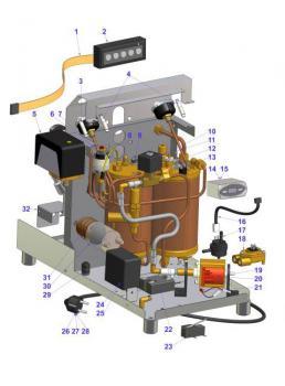 Electric Electtronic Double Boiler Pre 2011 Espresso