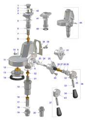 Vibiemme E-61 Manual Grouphead (HX, Jr., 2B)