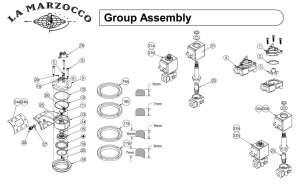 La Marzocco Grouphead - Drawing C