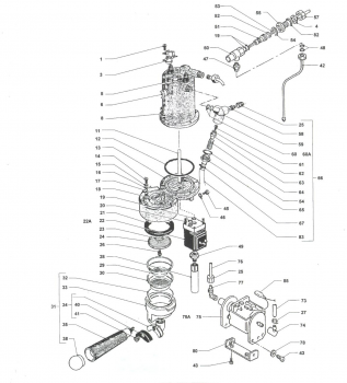 Drawing B Rancilio Silvia Pre 2007 Espresso Machine Parts