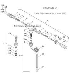 Drawing D - Elektra Steam Valve SINCE-1997
