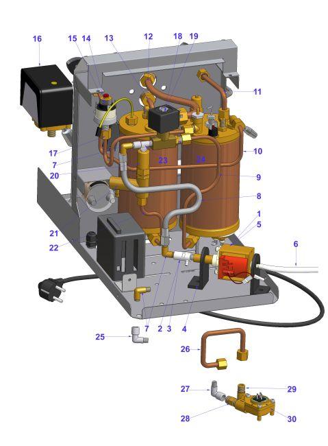 Vibiemme Domobar 2b Pre 2011 Manual Electric Espressocare