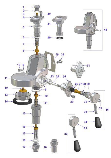 Vibiemme E 61 Manual Grouphead Hx Jr 2b Espressocare