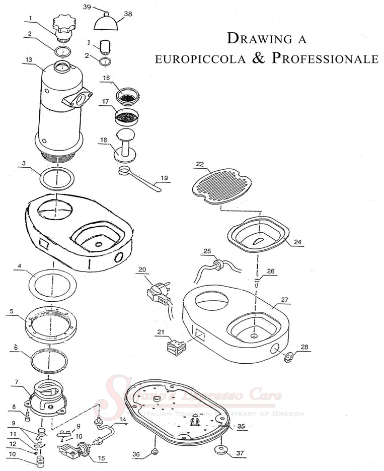 la pavoni europiccola wiring diagram   36 wiring diagram