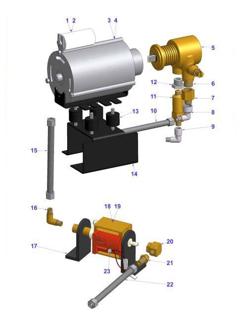 Vibiemme Domobar - Motor & Pump (HX, 2B) - Espressocare