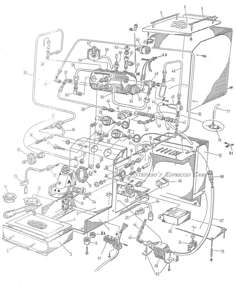 Isomac Tea Espressocare 140 Welding Replacement Parts Motor Repalcement And Diagram