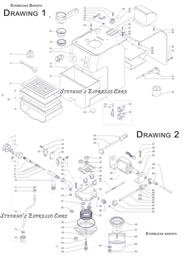 Schematic PDF Links and Manuals - Espressocare